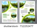 business brochure. flyer design.... | Shutterstock .eps vector #712252477