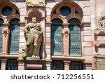 heidelberg architecture ...   Shutterstock . vector #712256551