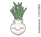 cartoon onion | Shutterstock .eps vector #712270891