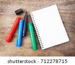 red  blue  black and green... | Shutterstock . vector #712278715