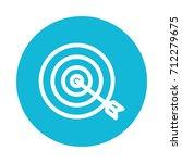 target icon | Shutterstock .eps vector #712279675