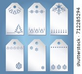 set the template labels with... | Shutterstock .eps vector #712285294