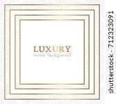luxury vector pattern | Shutterstock .eps vector #712323091