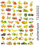 ecological fruit collection | Shutterstock . vector #71232322