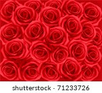 background with red roses....