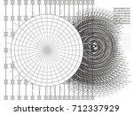 future technological concept...   Shutterstock .eps vector #712337929