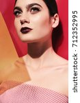 fashion studio photo of...   Shutterstock . vector #712352995