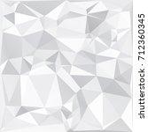 gray white polygonal background ... | Shutterstock .eps vector #712360345