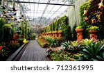 gardening with a variety of... | Shutterstock . vector #712361995