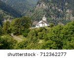 san martino church in calonico...   Shutterstock . vector #712362277