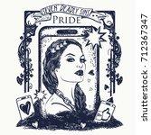 Pride. Seven Deadly Sins Tatto...