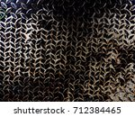 Small photo of Metal sheet, drain hose, can be used as a background image.