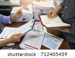 business and finance concept of ... | Shutterstock . vector #712405459