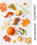 background image of autumn... | Shutterstock . vector #712407007