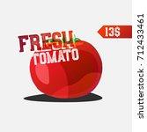 vector retro typography poster... | Shutterstock .eps vector #712433461