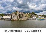 la roche bernard sits on the... | Shutterstock . vector #712438555