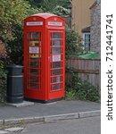newton st cyres  england  ... | Shutterstock . vector #712441741