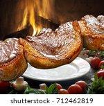 picanha  traditional brazilian... | Shutterstock . vector #712462819
