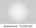 black and white dotted halftone ... | Shutterstock .eps vector #712467625