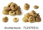 set of figs isolated on white...   Shutterstock . vector #712470511