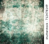 grunge green background | Shutterstock . vector #712478149