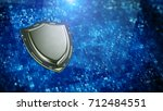 cyber security  information... | Shutterstock . vector #712484551
