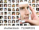 machine learning systems... | Shutterstock . vector #712489231