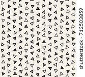seamless primitive jumble... | Shutterstock .eps vector #712503859