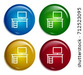 desk multi color gradient...