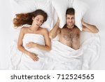people  family  bedtime and... | Shutterstock . vector #712524565