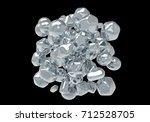 zinc oxide nanoparticles  3d... | Shutterstock . vector #712528705