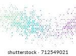 dark multicolor  rainbow vector ... | Shutterstock .eps vector #712549021