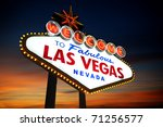 Stock photo welcome to las vegas sign 71256577