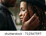 gentle touch. tender love...   Shutterstock . vector #712567597