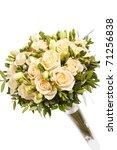 bridal bouquet | Shutterstock . vector #71256838