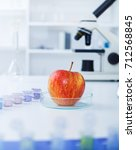 chemical laboratory of the food ... | Shutterstock . vector #712568845