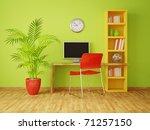 modern interior room with nice...   Shutterstock . vector #71257150