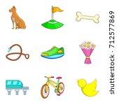 city park recreation icon set....   Shutterstock .eps vector #712577869