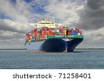 container ship | Shutterstock . vector #71258401