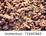 soil  cultivated dirt  earth ...   Shutterstock . vector #712602865