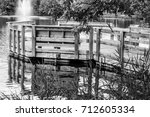 Nice Dock On The Pond Looking...