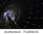 Partially Illuminated Ferris...