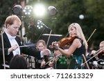rostov on don  russia   10... | Shutterstock . vector #712613329