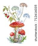 Bouquet Of Mushrooms ...