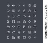 essentials ui icons