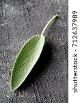 single fresh harvested organic... | Shutterstock . vector #712637989