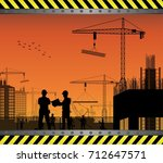 vector illustration of under... | Shutterstock .eps vector #712647571