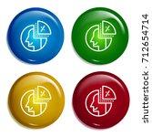 coin multi color gradient...