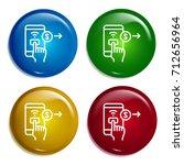 mobile phone multi color...