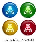 spinner multi color gradient...